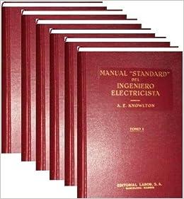 Fink, Manual Standard Del Ingeniero Electricista, 6 Tomos [Paperback ...