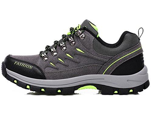 Botas Botas Deporte Zapatos Cordones Ocio Senderismo de al Aire Piel de Zapatillas de de s de Mujer Senderismo Senderismo Hombre 8507ds de Botas Libre Trainer para Gris FMCAMEL dwHT8qd