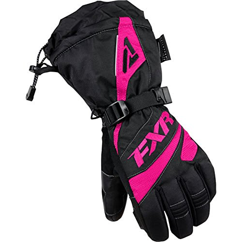FXR Women's Black/Fuchsia Fusion Glove - X-Small