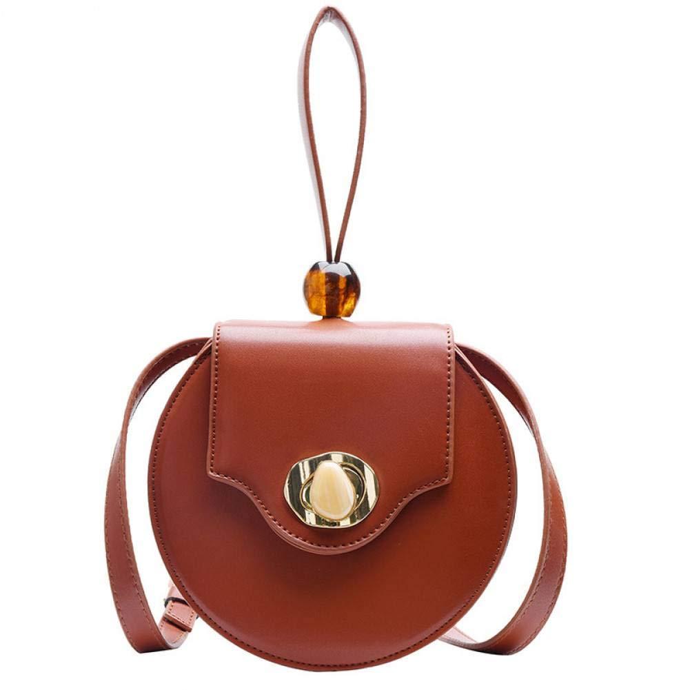 BAOBAOTIAN Fashion Wild Small Bag Female New Small Fresh Shoulder Messenger Bag Retro Small Round Bag