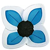 Image of Nyeutho Small Newborn Baby Bath Tub for Baby QuickGrowth Cute Foldable Plush Blooming Flower Baby Bath with Soft Comfortable Foam