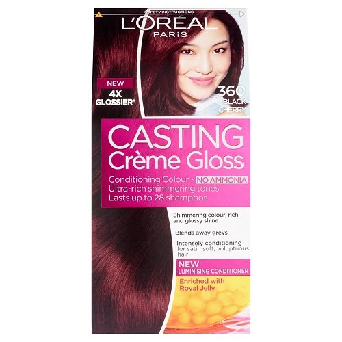 L'oreal Paris Casting Creme Gloss Hair Colourant 360 Black Cherry