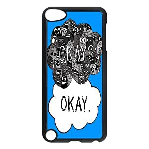 LZHCASE Design Phone Case Okay Okay For Ipod Touch 5 [Pattern-1]