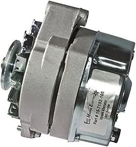Mercury Delco Style Alternator 20850 18-6455  5-SI 12V 50 Amp