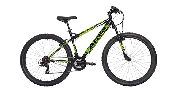 ATALA Mountain Bike Station Negro/Verde 21 V 27.5 Talla L ...