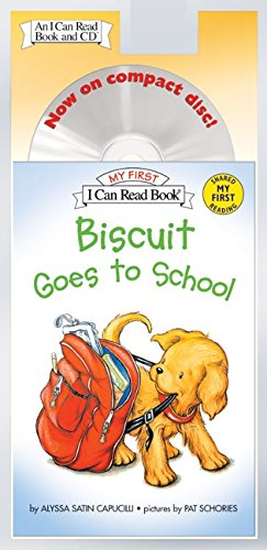 Biscuit Goes to School Book and CD (My First I Can - School Satin