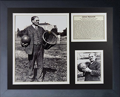 Legends Never Die James Naismith Kansas Jayhawks Collage Photo Frame, 11