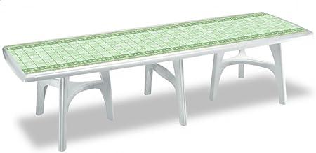 Tables extérieur 500 cm, pieds télescopiques Table en ...