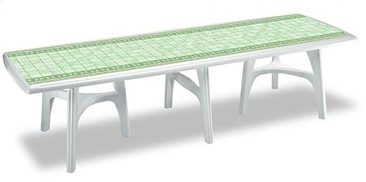 Mesa Exterior 500 cm, mesas se mantiene mesa de plástico 5 metros ...