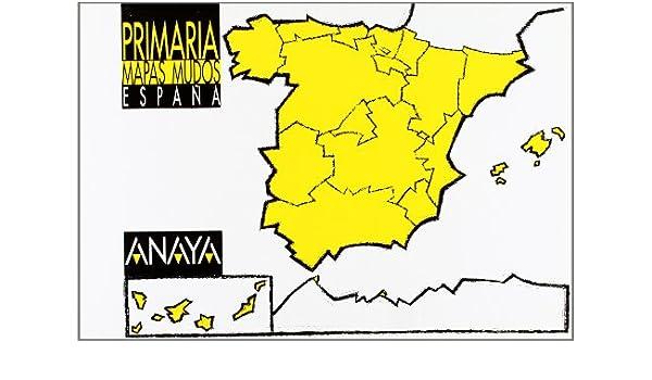 Mapas mudos. España. educacion primaria, 3 ciclo: Amazon.es: Libros