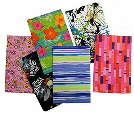 Amazon.com: Stretch Fabric Book Covers, 2
