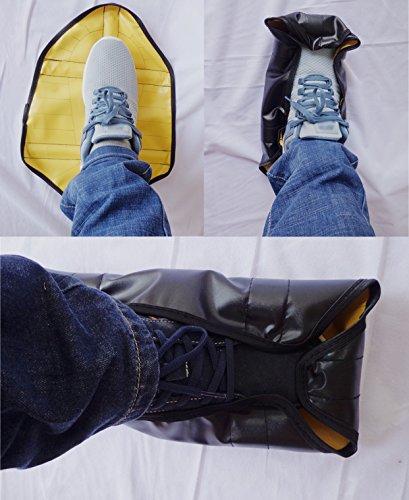 Maison Saisons Réutilisable Pour À Nettoyer Unisexe Couvre Antidérapant Imperméable Facile Nouveauté Les Idéal Yellow chaussures Rapide Toutes Automatique Antipoussière Adulte wqqtB8
