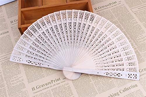 Favors And S - 150pcs Chinese Japanese Sandalwood Folding Hand Fan Personalized Wedding Favor And Gift Logo - Deign Xma Air Chrima Column Wedding Gift With Company Fetive