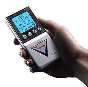 TESMED Max 7.8 Power electrostimulateur musculaire, tens massage – abdominaux, sport, masse musculaire, esthétique, massage tens
