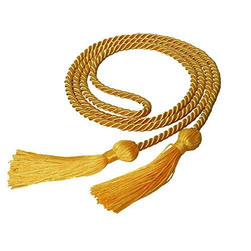 MyGradDay Single Graduation Honor Cord Length 68'',Available in 15 Colors