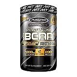 MuscleTech Platinum BCAA Pill, 8:1:1 BCAA Formula, 1000mg of BCAA per Caplet, 200 Caplets