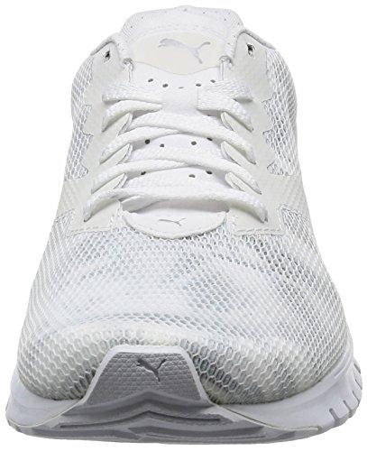 Puma Women's Ignite Dual Swan WN's Running Shoes, White/Grey White (Puma White-quarry 02)