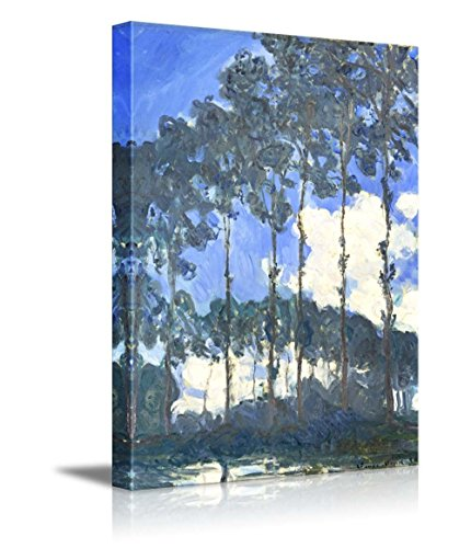 Poplars on The Banks of The Epte by Claude Monet Impressionist Art
