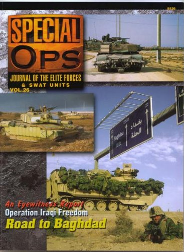 Concord Publications Special Ops Journal #26 Operation Iraqi Freedom: Road to Baghdad (Special Ops Group)