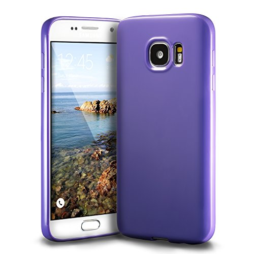 Galaxy S7 Purple Case, technext020 Galaxy S7 Case silicone protective back cover Slim Fit Samsung Galaxy S7 bumper