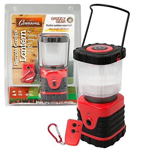 Indoor/Outdoor LED Lantern with Remote Control and Compass By Grizzly Gear ()