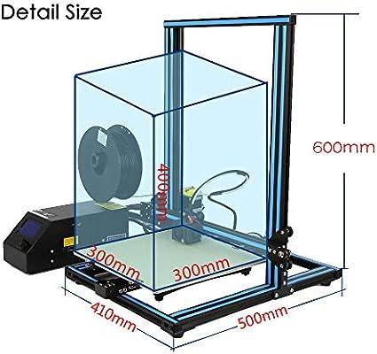 Creality CR-10 Impresora 3D Prusa I3 DIY Kit Aluminio Tamaño ...