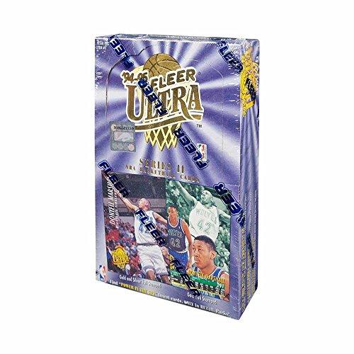 1994-95 Fleer Ultra Series 2 Basketball 36ct Retail -
