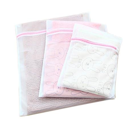 Bolsa de lavandería lavar la ropa bolsa lavadora red ropa interior ...