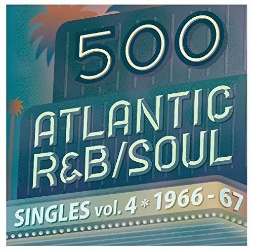 VARIOUS ARTISTS: 500 Atlantic R&B / Soul Singles Vol 4 / Various