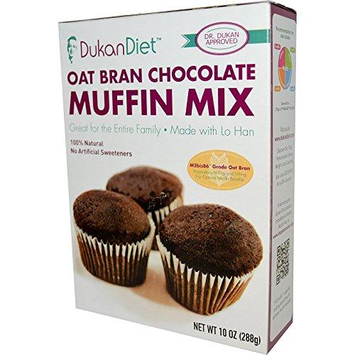 Dukan Diet, Oat Bran Chocolate Muffin Mix, 10 oz (288 g) Dukan Diet, Oat Bran Chocolate Muffin Mix, 10 oz (288 g)