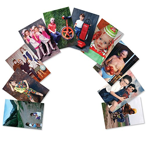 (AC6334BDG-B1x10 'Another Year Older, Another Awkward Family Photo': Assorted Box of 10 Funny Birthday Cards, with Envelopes (10 Designs, 1 Card Per Design) )