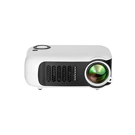 ZUKN Mini Proyector Portátil LCD HD 1080P 800 Lúmenes LED Video ...