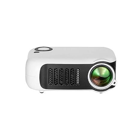 ZUKN Mini Proyector Portátil LCD HD 1080P 800 Lúmenes LED Video ...