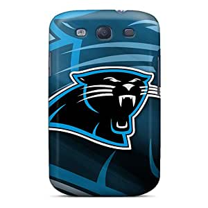 Icase88 Samsung Galaxy S3 Scratch Protection Mobile Cases Customized Vivid Carolina Panthers Pattern [cBv185bQyx]