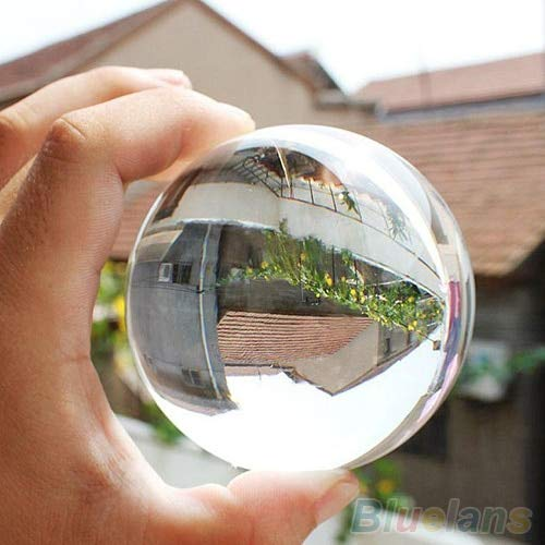 Zamtac 60mm Rare Natural Quartz Crystal Sphere Clear, used for sale  Delivered anywhere in Canada