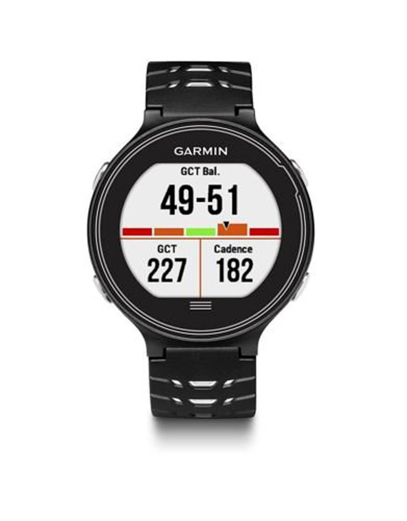 Garmin Forerunner 630 Fitness GPS Touchscreen Smart Watch - Black/White (Certified Refurbished) by Garmin
