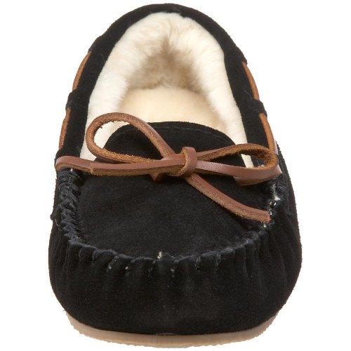 Blitz International Slippers Black Molly Low Women's by Slipper Faux Tamarac Zqaw8f1xnP