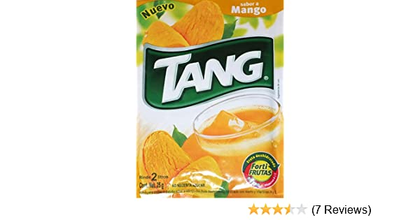 Amazon.com : 3 X Tang Mango Flavor No Sugar Needed Makes 2 Liters of Drink 15g From Mexico : Powdered Soft Drink Mixes : Grocery & Gourmet Food