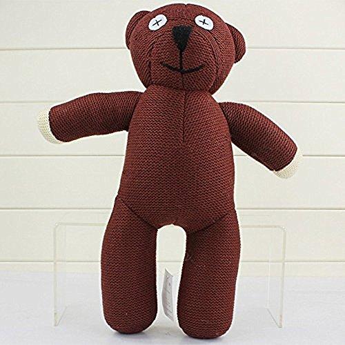 Plush Teddy Bear Bean Mr (Mr Bean Plush 13.6 Inch / 35cm Teddy Bear Doll Stuffed Animals Figure Soft Anime Collection Toy)
