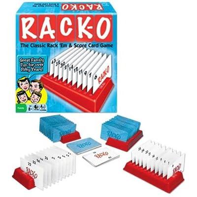 RACK-O; the Classic Rack 'Em & Score Card Game: Toys & Games