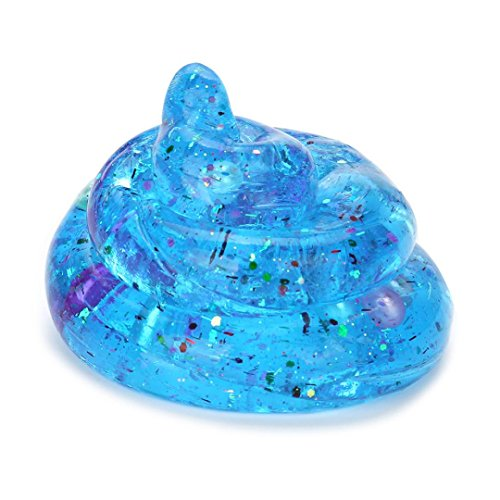 Letong 855cm Cute Gourd Crysta Jelly Toy Soft Slime Scented Stress Relief Toy Fun Sludge Toys (Random)