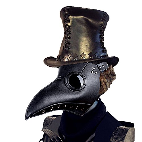 Lubber Plague Doctor Bird Mask Gothic Cosplay Retro Steampunk Props for (Doctors Halloween Costumes)