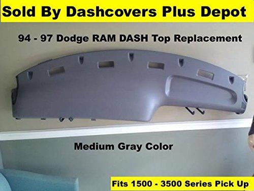 94 Dash Board Cover (Dodge Ram Replacement Dash Board Fits 94-97 Pickup Truck)