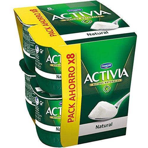 Danone Activia - Yogur Natural, Pack 8 x 125 g: Amazon.es: Alimentación y bebidas