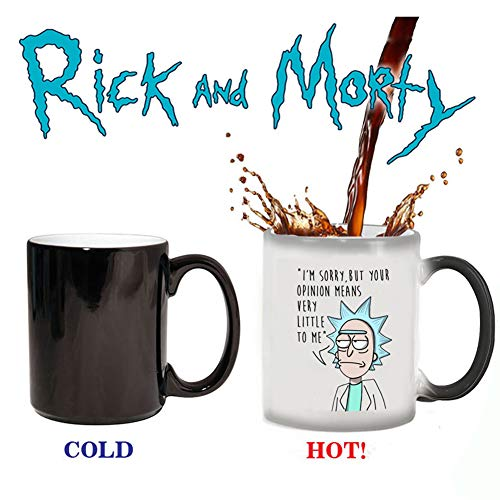Magic Color Changing Coffee Mug -