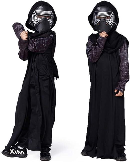 GUAN Disfraz de Samurai Guerrero Infantil Disfraz de Rendimiento ...