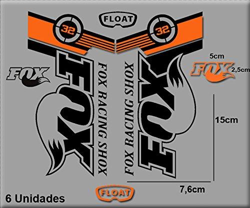 Pegatinas Fox Flota 32 Bikes R141 Vinilo Adesivi Decal Aufkleber Mtb