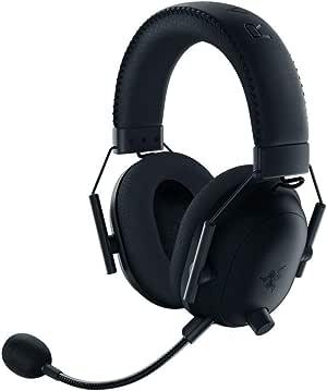 Razer BlackShark V2 Pro Wireless Gaming Headset: THX 7.1 Spatial Surround Sound - 50mm Drivers - Detachable Mic - for PC, PS4, PS5, Switch, Xbox One, Xbox Series X & S - 3.5mm Headphone Jack - Black