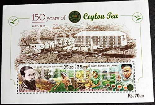 150 th Anniversary of Ceylon Tea - Souvenir Sheet