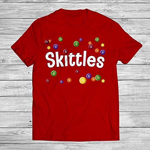 Skittles Tasty Colors Rainbow Colorful Candy Halloween Costume Customized Handmade T-Shirt Hoodie/Long Sleeve/Tank Top/Sweatshirt